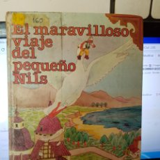 Libros de segunda mano: S28//EL MARAVILLOSO VIAJE DEL PEQUEÑO NILS//LAGERLÖF. Lote 86700542