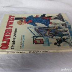 Libros de segunda mano: PALMA DE ORO - Nº 9: OLIVER TWIST - DE CHARLES DICKENS - EDITORIAL BRUGUERA - AÑO 1977. Lote 86979320