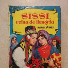 Libros de segunda mano: ANTIGUO LIBRO - SISSI REINA DE HUNGRIA - VITRINA - 250 ILUSTRACIONES BRUGUERA. Lote 87386948