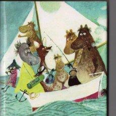 Libros de segunda mano: TOVE JANSSON : LA FAMILIA MUMIN (MUNDO MÁGICO NOGUER, 1967). Lote 89380308