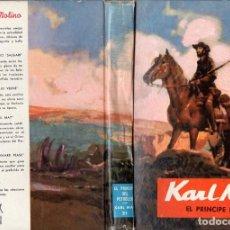 Libros de segunda mano: KARL MAY : EL PRÍNCIPE DEL PETRÓLEO (MOLINO, 1962). Lote 89747712