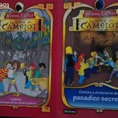 Libros de segunda mano: LA TRIBU DE CAMELOT - GEMMA LIENAS - LOTE 2. Lote 90201856