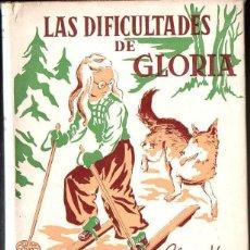 Libros de segunda mano: ELSA HINZELMANN : LAS DIFICULTADES DE GLORIA (HYMSA, S.F.) ILUSTRADO POR MONTSERRAT BARTRA. Lote 90352836