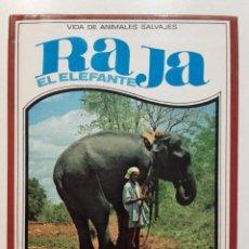 Libros de segunda mano: RAJA EL ELEFANTE - VIDA DE ANIMALES SALVAJES Nº 9 - C. BERNARD RUTLEY - ED. MOLINO - 1982. Lote 90375748