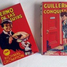Libros de segunda mano: RICHARD CROMPTON : GUILLERMO EL CONQUISTADOR.. GUILLERMO HACE DE LAS SUYAS (MOLINO, 1979). Lote 90559660