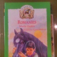 Libros de segunda mano: ROMANÍES (GITANOS) (NOVELA INFANTIL) (MADRID, 1988) DEDICATORIA AUTÓGRAFA DE LA AUTORA.. Lote 90669735