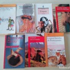 Libros de segunda mano: COLECCION ALFAGUARA, ALA DELTA, ESPASA-LOTE 24 LIBROS JUVENILES-OCASION, VER. Lote 172831563