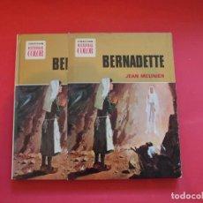 Libros de segunda mano: BERNADETTE - J. MEUNIER - Nº 2 COLECCIÓN HISTORIAS COLOR - BRUGUERA 1ª ED. 1973 CON CAJA. Lote 91243335