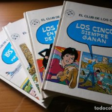 Libros de segunda mano: COLECCIÓN EL CLUB DE LOS CINCO - 4 VOLÚMENES - EDT. JUVENTUD - 1982 - COMPLETA. Lote 49853260