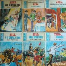 Libros de segunda mano: LOTE DE 6 LIBROS NUEVA GENERACIÓN: GINA, JILL, TINA. EDICIONES TORAY (1973) ¡MUY BUEN ESTADO!. Lote 49735748