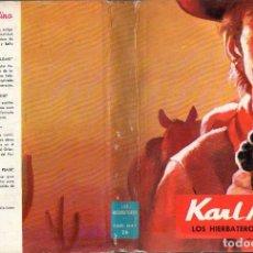 Libros de segunda mano: KARL MAY : LOS HIERBATEROS (MOLINO, 1962). Lote 94456362