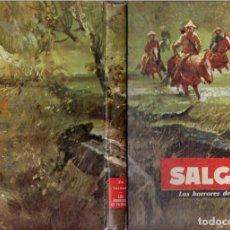 Libros de segunda mano: SALGARI : LOS HORRORES DE FILIPINAS (MOLINO, 1962). Lote 94457598