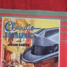 Libros de segunda mano: CLAUDIO BOMBARNAC.DE JULIO VERNE. Lote 95631943
