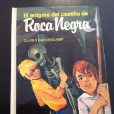 Libros de segunda mano: EL ENIGMA DEL CASTILLO DE ROCA NEGRA DE OLIVER HASSENCAMP, LIBRO MAE 2005. Lote 95732572