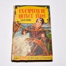 Libros de segunda mano: UN CAPITÁN DE QUINCE AÑOS - COLECCIÓN HISTORIAS - BRUGUERA. Lote 95829999