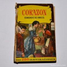 Libros de segunda mano: CORAZÓN - COLECCIÓN HISTORIAS - BRUGUERA. Lote 95830047