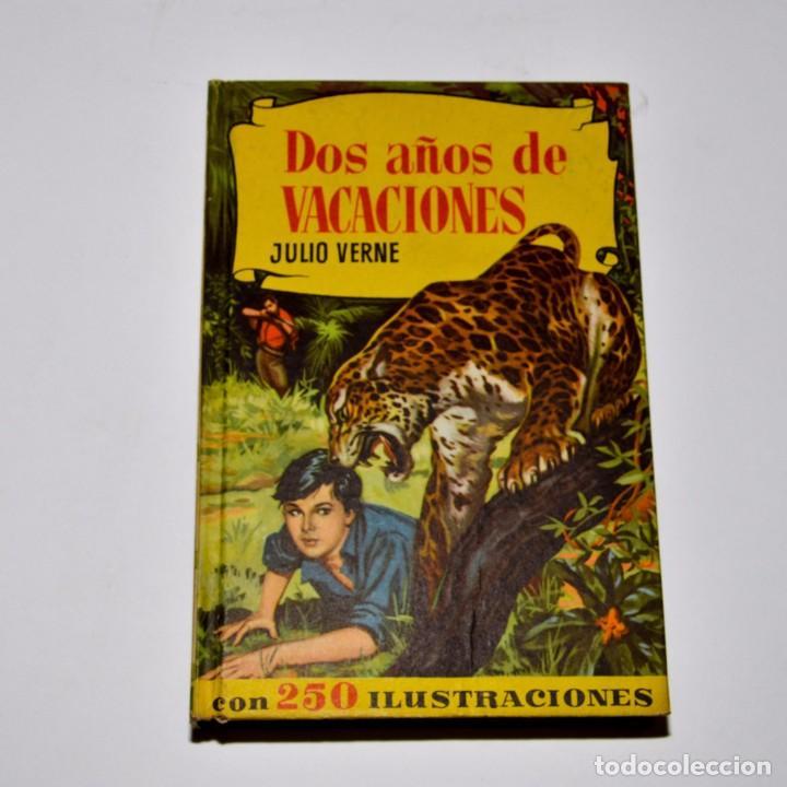 DOS AÑOS DE VACACIONES - COLECCIÓN HISTORIAS - BRUGUERA (Libros de Segunda Mano - Literatura Infantil y Juvenil - Novela)