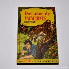 Libros de segunda mano: DOS AÑOS DE VACACIONES - COLECCIÓN HISTORIAS - BRUGUERA. Lote 95830147