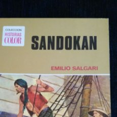 Libros de segunda mano: SANDOKAN EMILIO SALGARI BRUGUERA . Lote 95835234