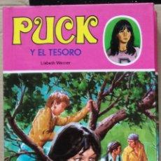 Libros de segunda mano: PUCK Y EL TESORO, Nº 16 - LISBETH WERNER; TORAY. Lote 95901319