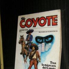 Libros de segunda mano: EL COYOTE-EDICIONES FORUM- Nº 11-TRAS LA MÁSCARA DEL COYOTE+EL DIABLO EN LOS ÁNGELES- MALLOQUI 1983. Lote 95909535