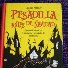 Libros de segunda mano: LIBRO PESADILLAS DE NAVIDAD POR DAPHNE SKINNER. Lote 95924326