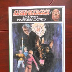 Libros de segunda mano: ALFRED HITCHCOCK Y LOS TRES INVESTIGADORES - MISTERIO DEL PERRO INVISIBLE - TAPA DURA (V2). Lote 95936167