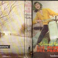 Libros de segunda mano: EDWARD FENTON : LAS PUERTAS DEL PARAÍSO (MOLINO, 1958) MOTO VESPA. Lote 152847794