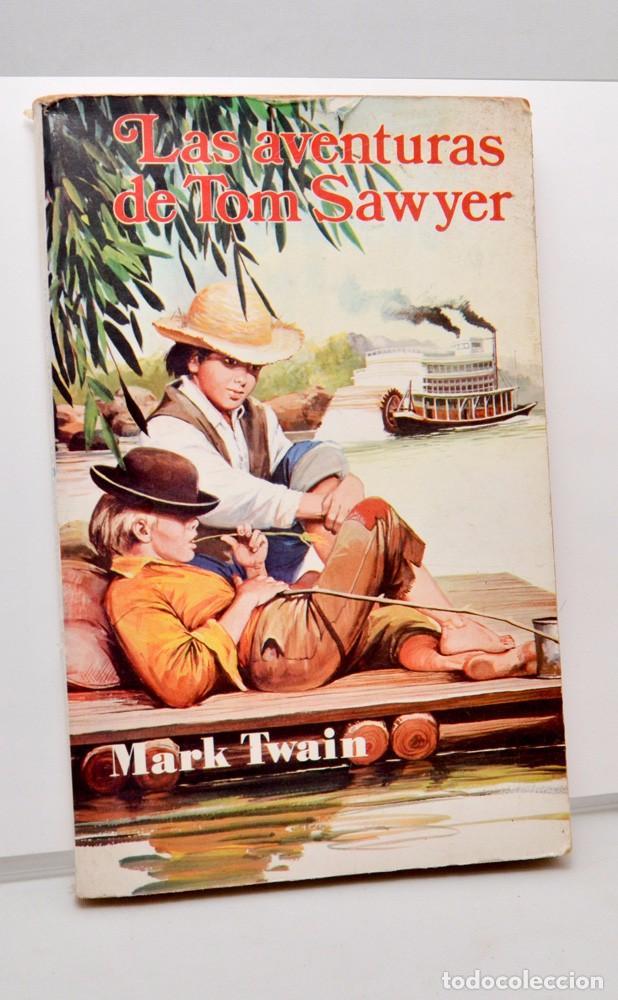 LAS AVENTURAS DE TOM SAWYER - MARK TWAIN - ED. ANTALBE (Libros de Segunda Mano - Literatura Infantil y Juvenil - Novela)
