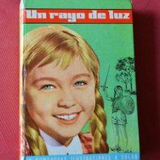 Libros de segunda mano: UN RAYO DE LUZ - MARISOL - EDITORIAL FELICIDAD - Nº 1 - 1962. Lote 97065403