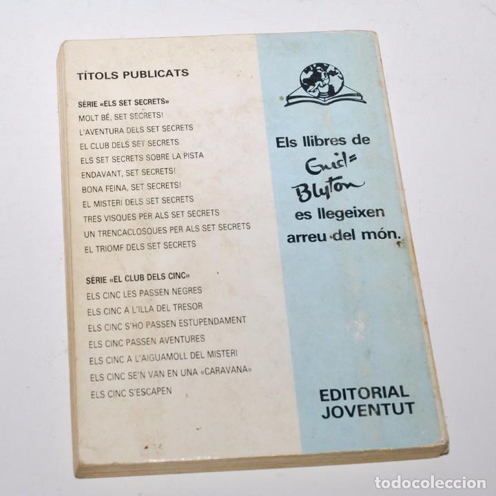 Libros de segunda mano: LAVENTURA DELS SET SECRETS - ENID BLYTON - Foto 2 - 97093763