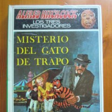 Libros de segunda mano: LIBRO ALFRED HITCHCOCK Y LOS TRES INVESTIGADORES: MISTERIO DEL GATO DE TRAPO (1971) MOLINO. Lote 97169639