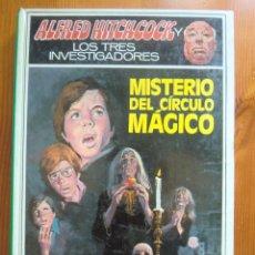 Libros de segunda mano: LIBRO ALFRED HITCHCOCK Y LOS TRES INVESTIGADORES: MISTERIO DEL CÍRCULO MÁGICO (1979) MOLINO. Lote 97169799