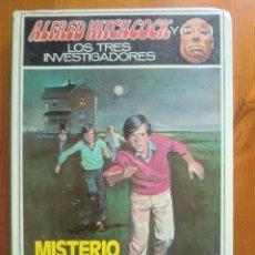 Libros de segunda mano: LIBRO ALFRED HITCHCOCK Y LOS TRES INVESTIGADORES: MISTERIO DEL DOBLE MORTAL (1979) MOLINO. Lote 97169947