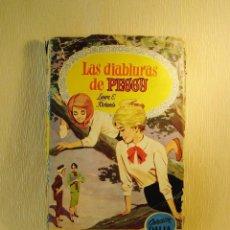 Libros de segunda mano: LIBRO LAS DIABLURAS DE PEGGY. COLECCIÓN DALIA. EDITARIAL BRUGUERA. 1.959. Lote 97313659