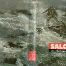 Libros de segunda mano: SALGARI : LOS NÁUFRAGOS DEL LIGURIA (MOLINO, 1959). Lote 98717731
