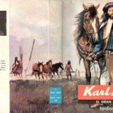 Libros de segunda mano: KARL MAY : EL GRAN CHACO (MOLINO, 1965). Lote 98717867