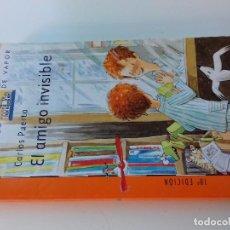 Libros de segunda mano: EL AMIGO INVISIBLE-CARLOS PUERTO-18ª EDICION 2007 -BARCO DE VAPOR-SM-VER FOTOS. Lote 98728095