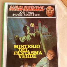 Libros de segunda mano: ALFRED HITCHCOCK LOS TRES INVESTIGADORES Nº 4 - MISTERIO DEL FANTASMA VERDE - ED. MOLINO - 1968. Lote 98875759