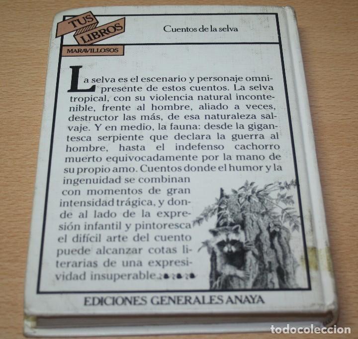 Libros de segunda mano: Cuentos de la selva - Horacio Quiroga - Colección Tus Libros - Foto 3 - 98987511