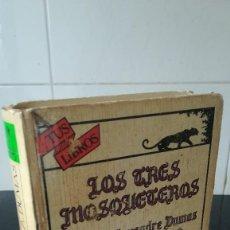 Libros de segunda mano: 35-LOS TRES MOSQUETEROS, ALEJANDRO DUMAS, ANAYA. Lote 99689567