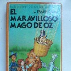 Libri di seconda mano: EL MARAVILLOSO MAGO DE OZ. BAUM. Lote 99712219
