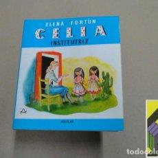 Libros de segunda mano: FORTUN, ELENA: CELIA INSTITUTRIZ EN AMÉRICA. Lote 100211443
