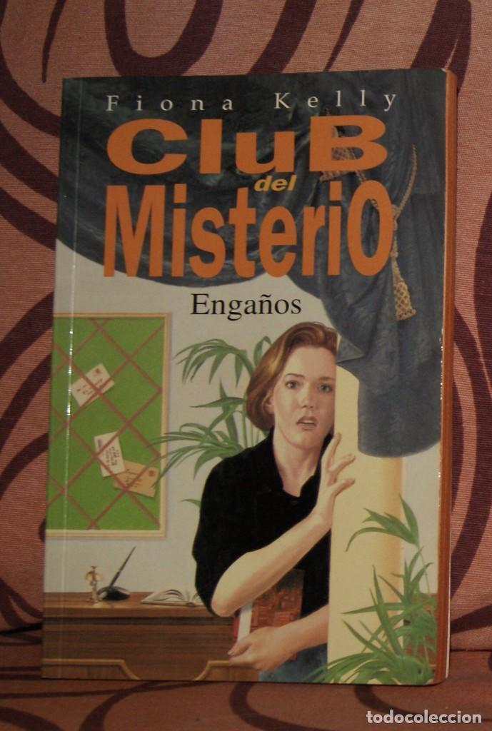 CLUB DEL MISTERIO 12. ENGAÑOS FIONA KELLY (Libros de Segunda Mano - Literatura Infantil y Juvenil - Novela)