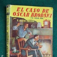 Livres d'occasion: EL CASO DE OSCAR BRODSKI COLECCIÓN ATORES BRITANICOS. Lote 100505831