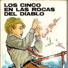 Libros de segunda mano: 43 LOS CINCO EN LAS ROCAS DEL DIABLO ENID BLYTON EDITORIAL JUVENTUD 1988. Lote 101020887