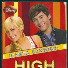 Libros de segunda mano: ¡CANTA CONMIGO! (N.B. GRACE) / HIGH SCHOOL MUSICAL, 1 - MONTENA | ISBN 9788484414179. Lote 101091443