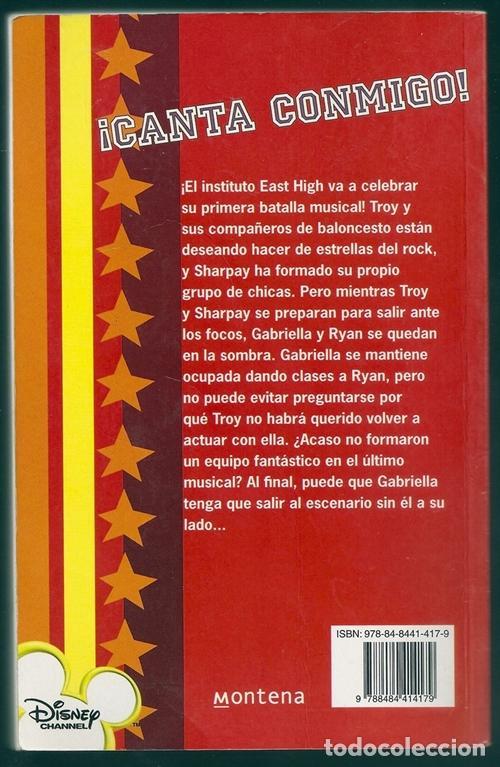 Libros de segunda mano: ¡Canta conmigo! (N.B. Grace) / High School Musical, 1 - Montena | ISBN 9788484414179 - Foto 2 - 101091443