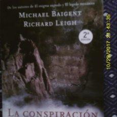 Libros de segunda mano: LIBRO Nº 1055 LA CONSPIRACION DEL MAR MUERTO DE MICHAEL BAIGENT Y RICHARD LEIGH. Lote 101777855