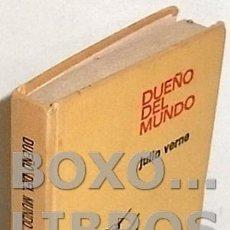 Libros de segunda mano: VERNE, JULIO. DUEÑO DEL MUNDO. BRUGUERA. COLECCIÓN HISTORIAS INFANTIL. Lote 101849731